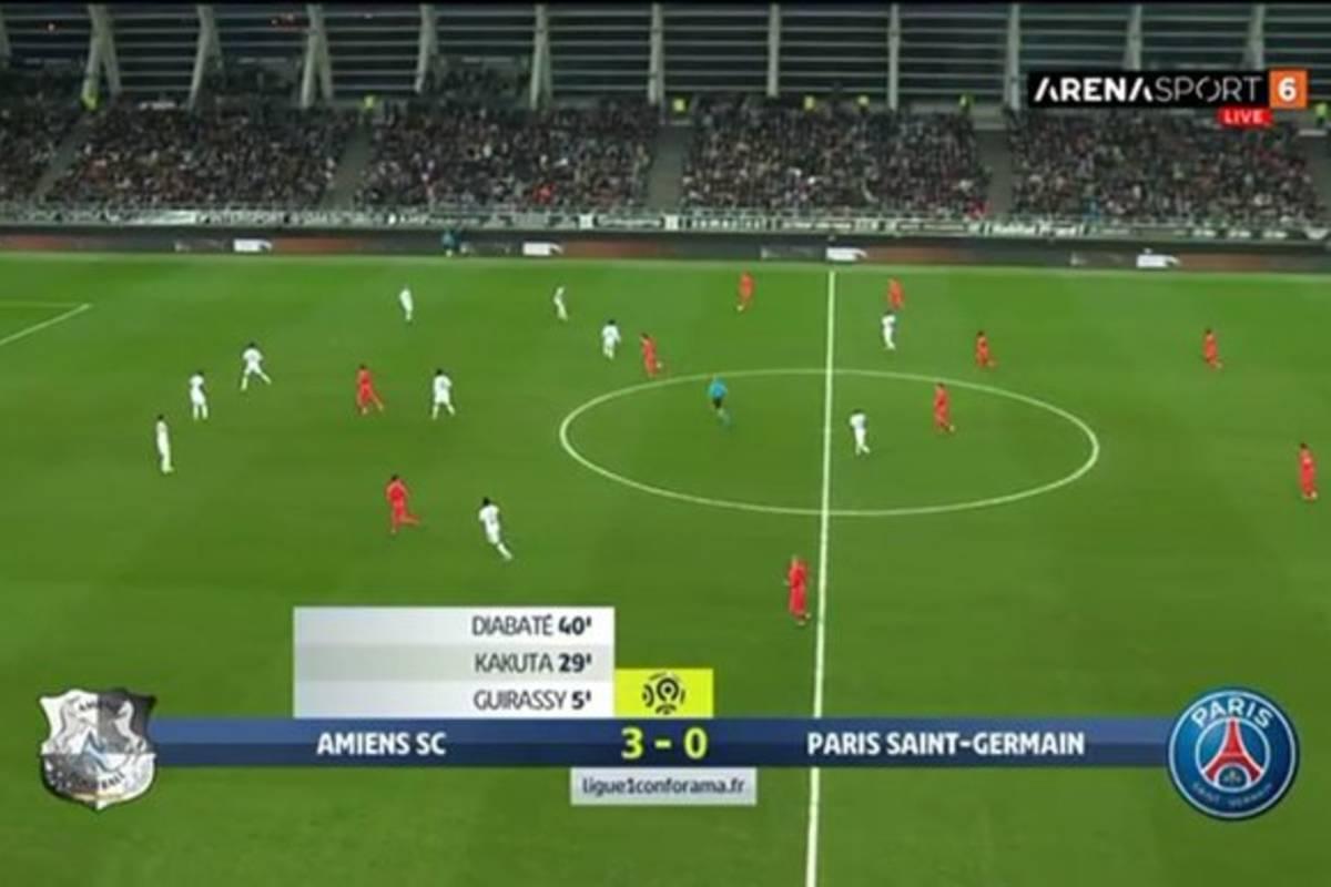 PSG zgubiło punkty po szalonej pogoni. Osiem goli w meczu z przedostatnią drużyną w tabeli! [WIDEO]