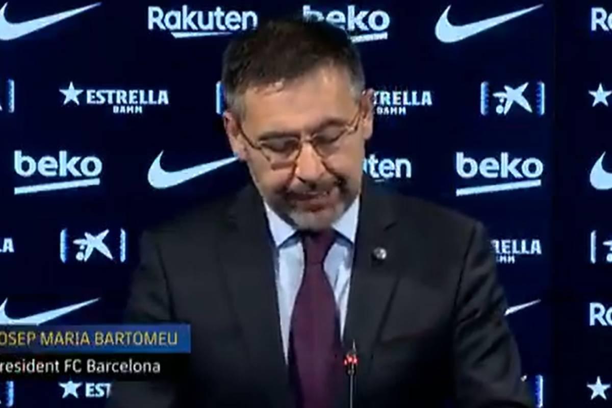 Ust U0119puj U0105cy Prezes FC Barcelony Odej U015bcie Po Pora U017cce Z