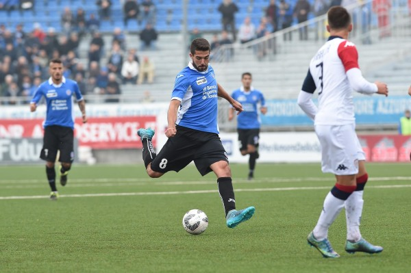 Cały mecz Salamona, porażka Cagliari