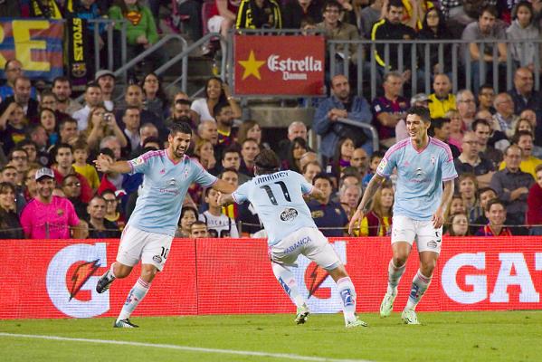 Celta wygrywa z Villareal, zrównuje się z Barcą i Realem