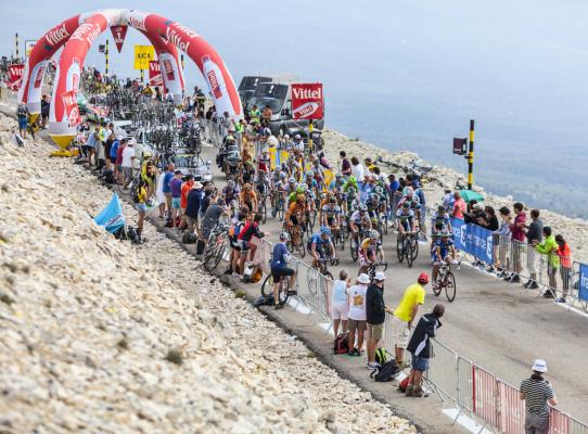 Kolarze wrócą na Mont Ventoux