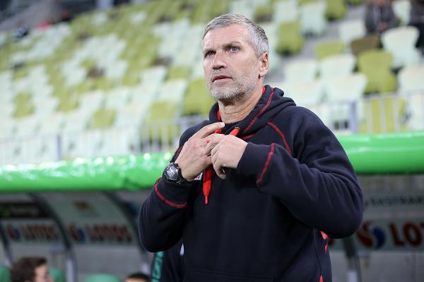 Trener Lechii pod wrażeniem pracy swojego piłkarza