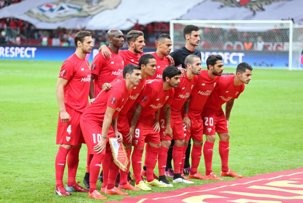 5 goli w meczu Sevilli, 90 minut Krychowiaka