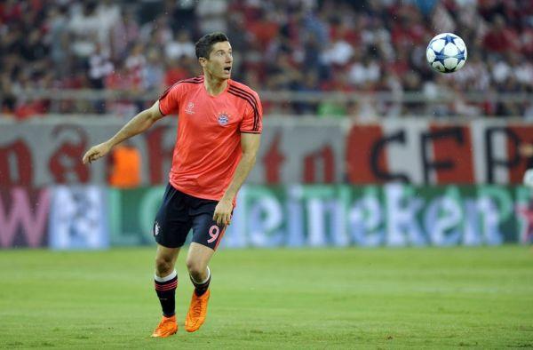 Świetne oceny Lewego, Robben wrócił w formie