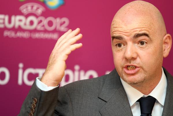Infantino chce być prezydentem FIFA