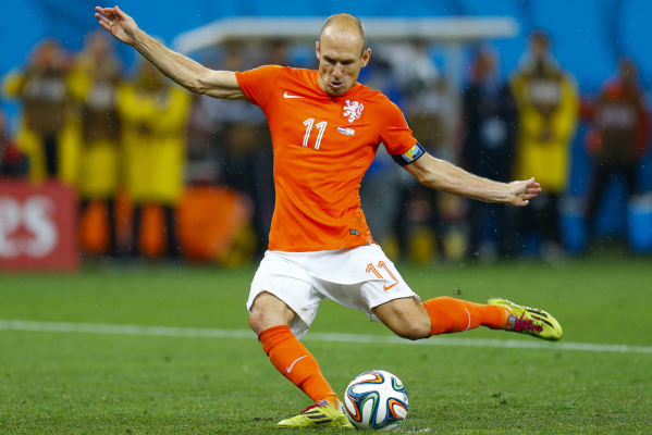 Robben szczęśliwy z powrotu na boisko