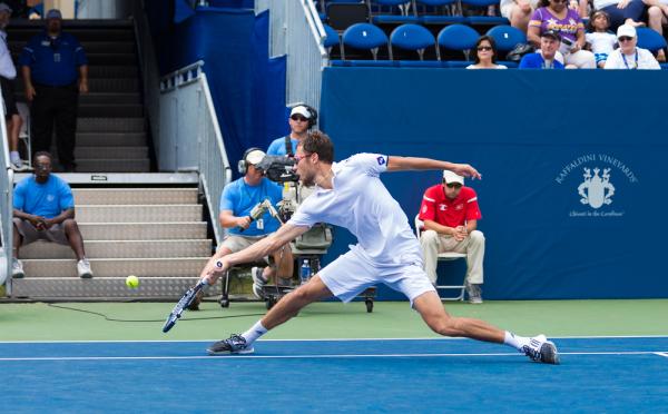 Janowicz odpadł w pierwszej rundzie turnieju w Bazylei