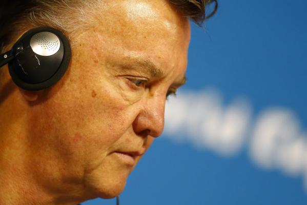 Van Gaal rozczarowany, ale dumny