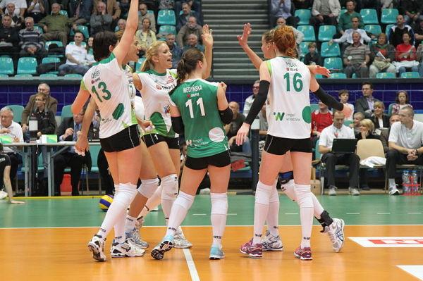 Impel Wrocław wygrywa w pierwszym meczu Ligi Mistrzyń