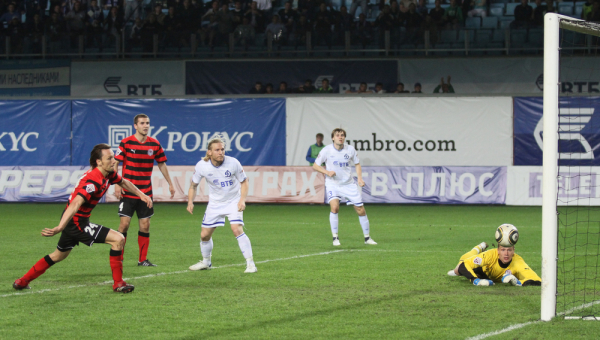 Puchar Rosji: Amkar pokonał Lokomotiw, cały mecz Gola