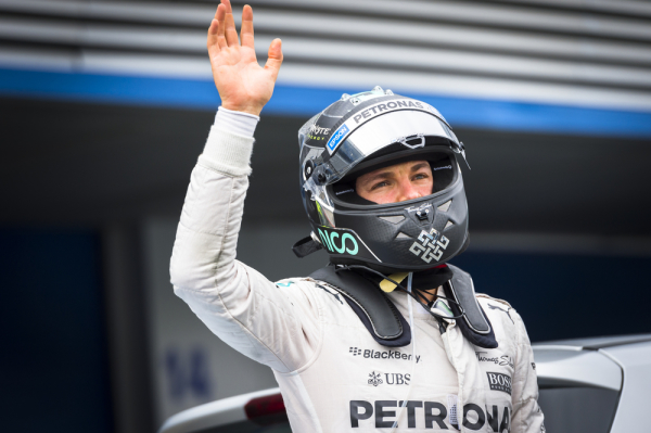 GP Meksyku: Rosberg z pole position
