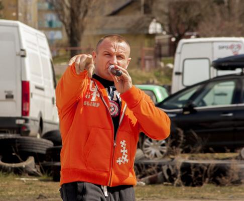 Mariusz Pudzianowski przegrał z Grahamem