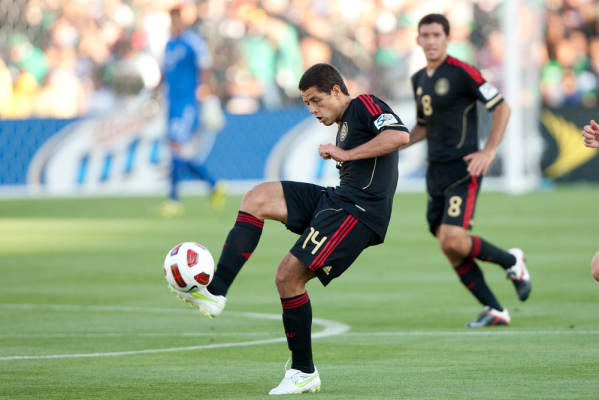 Chicharito: Mecz z Romą przybliży nas do awansu