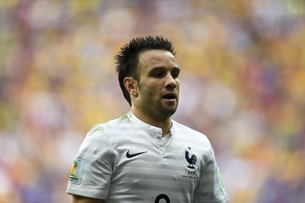 Valbuena poza składem Francji