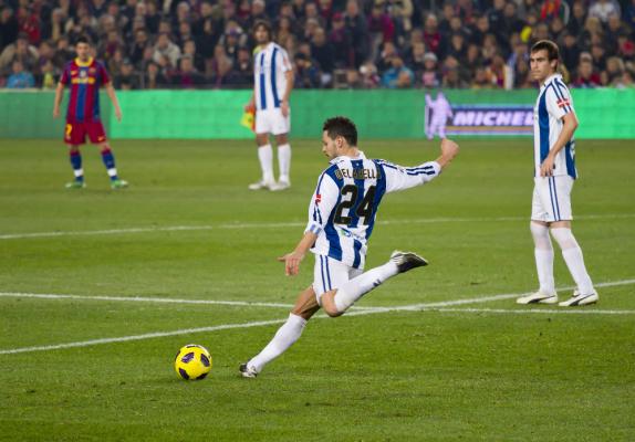 Real Sociedad przegrał w Las Palmas