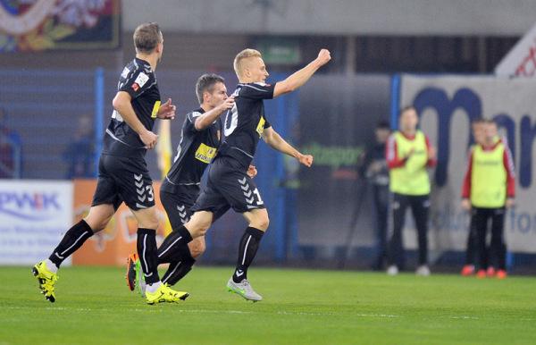 Korona Kielce wygrała z Górnikiem Zabrze