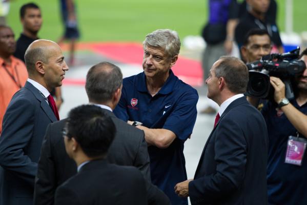 Wenger o pracy: W Anglii tylko w Arsenalu