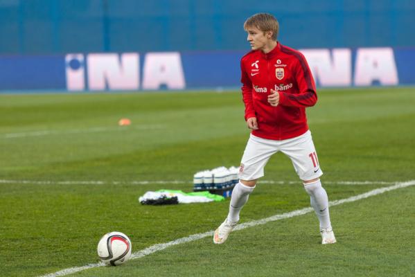Odegaard: Ronaldo udziela mi wielu wskazówek