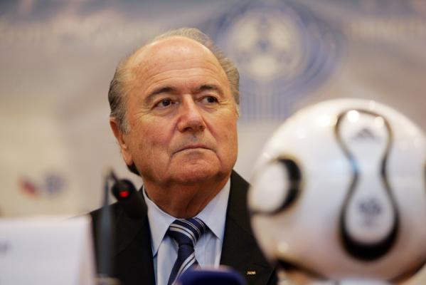 Sepp Blatter wylądował w szpitalu