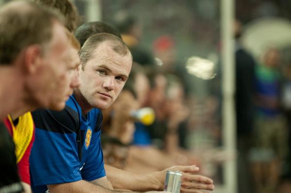 Rooney rozpocznie mecz z Hiszpanią na ławce