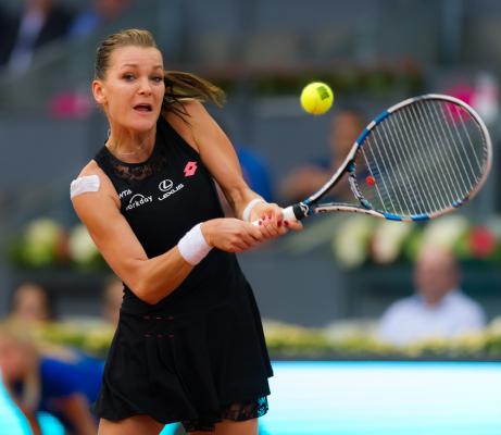Radwańska tenisistką października i z zagraniem miesiąca