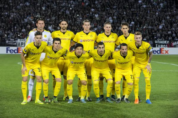 Borussia wyprzedziła Juventus i PSG w rankingu UEFA