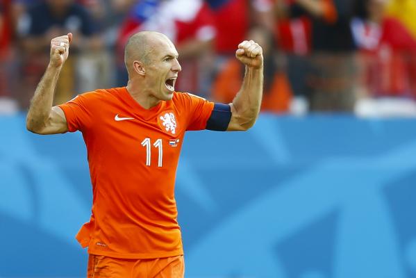 Robben: Pokazaliśmy mentalność zwycięzców