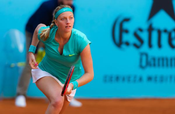 Kvitova: Szarapowa grała zbyt dobrze