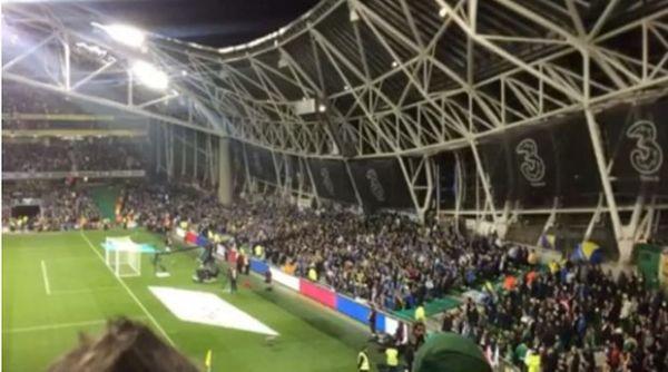 Bośniacy wygwizdali minutę ciszy [video]