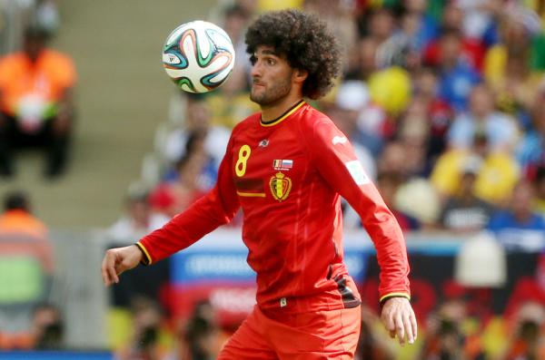 Fellaini denerwuje trenera reprezentacji Belgii