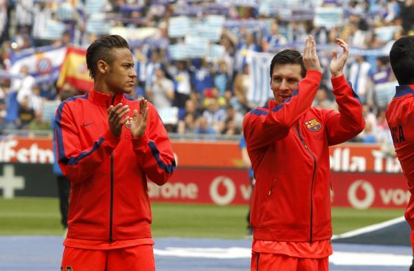 """Messi królem futbolu. Neymar - dziedzicem tronu"""