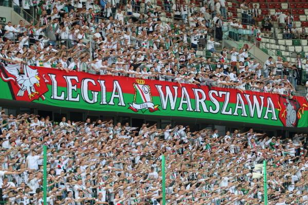 UEFA ukarała Legię, ale nie za oprawę o Powstaniu Warszawskim