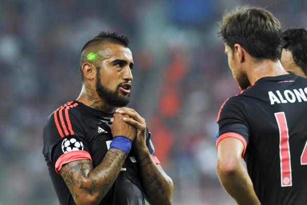 Vidal: Bayern jest znacznie silniejszy od Juve
