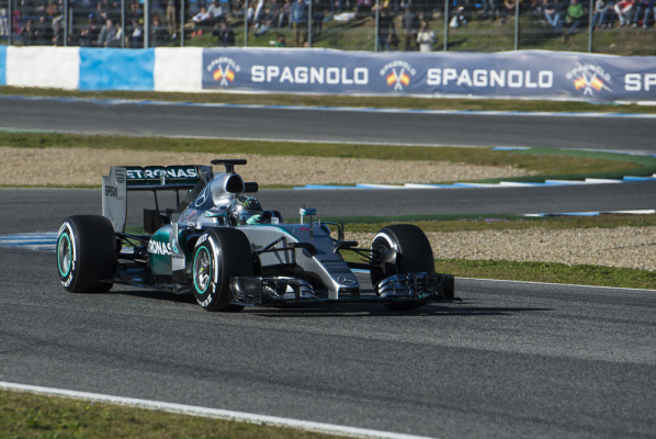 Grand Prix Abu Zabi: Rosberg z pole position