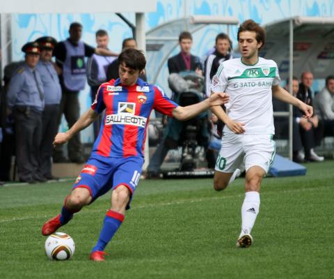 Tylko remis CSKA Moskwa w Dagestanie