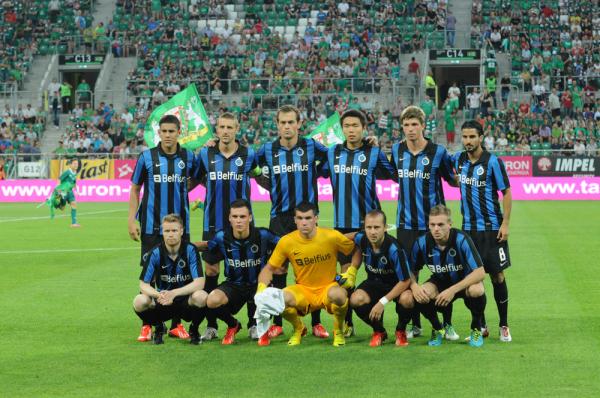 Club Brugge rozbił Mechelen, Wolski na ławce