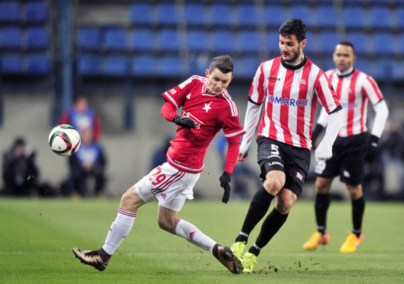 Cetnarski: Prowadzić 2-0 na Wiśle to olbrzymi sukces