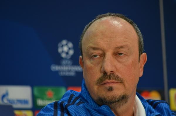 """Benitez myśli, że trenuje Getafe"""