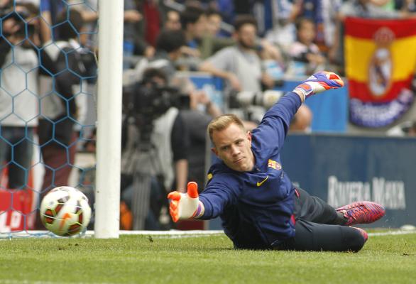 Kontuzja bramkarza Barcelony