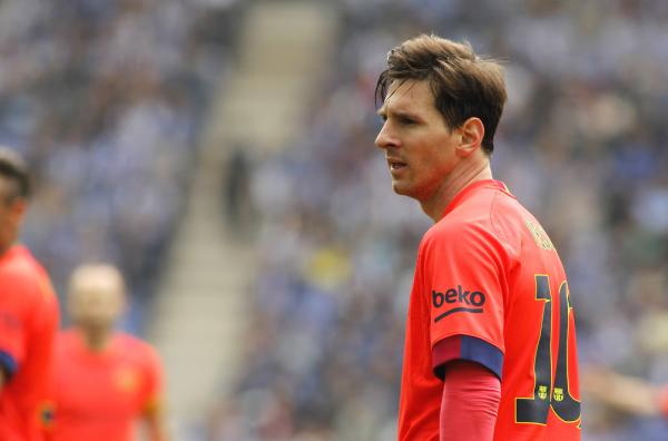 Messi nie zagra w Pucharze Króla