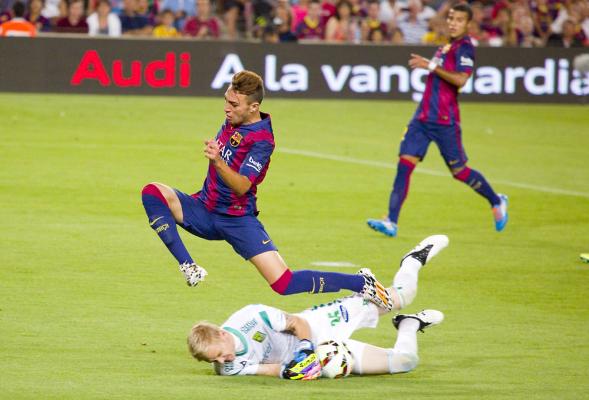 Bezproblemowy awans Barcelony
