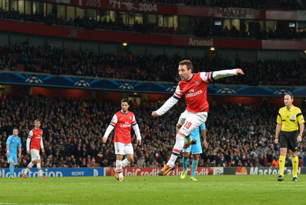 Długa przerwa pomocnika Arsenalu