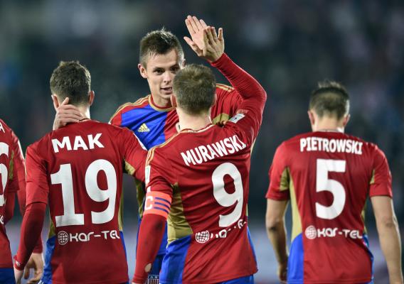 Cracovia zremisowała z liderem Ekstraklasy
