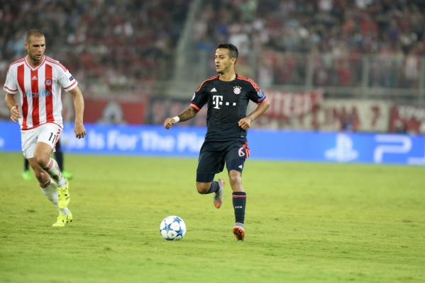 Thiago wznowił treningi z Bayernem