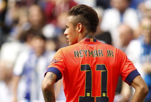 Neymar najlepszym piłkarzem La Liga w listopadzie