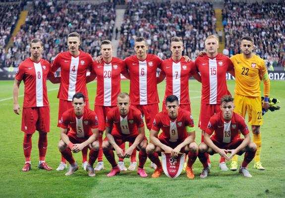 Anglicy docenili drużynę Nawałki, Polska dziewiątą siłą Euro 2016