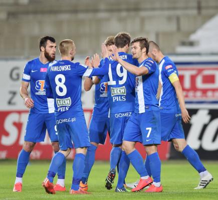 Ekstraklasa: Robak zapewnił Lechowi wygraną