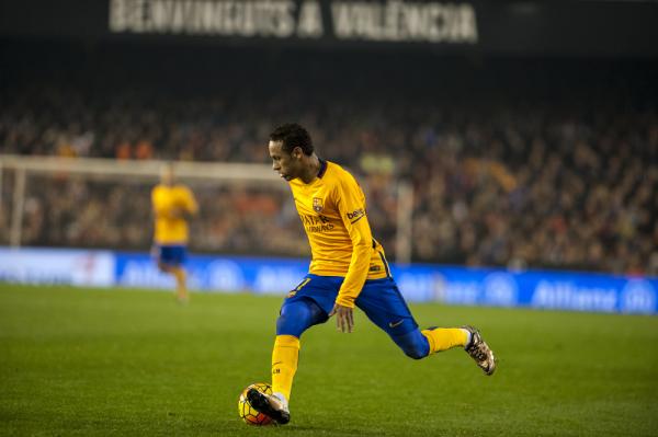 Scolari: Barcelona nie odczuje nieobecności Neymara
