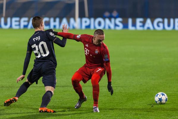 Franck Ribery nie zagra przez dwa miesiące