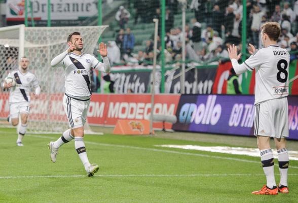 Legia wygrała z Koroną w Kielcach